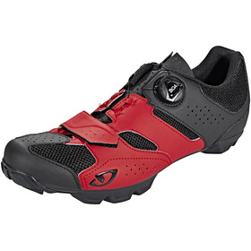 Giro Cylinder Shoes Men dark red/black